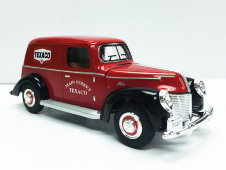 Chevron Texaco & Ford 1940 Official Licensed 1:32 Die Cast Panel Van (Truck Size 5.5 inches)