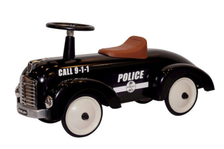 Shelby Cobra Stamped Steel Police Chief Foot To Floor Ride-On