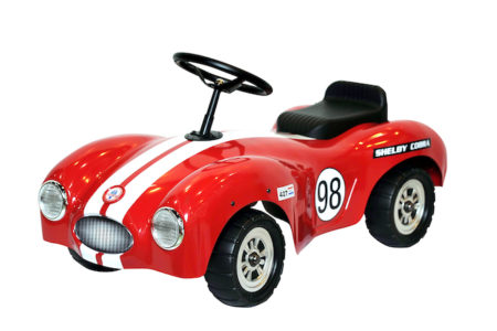 Shelby Cobra Stamped Steel Foot To Floor Ride-On (Red)