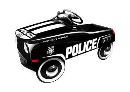 Shelby Cobra Official Licensed  Police Chief Stamped Steel Pedal Ride-On