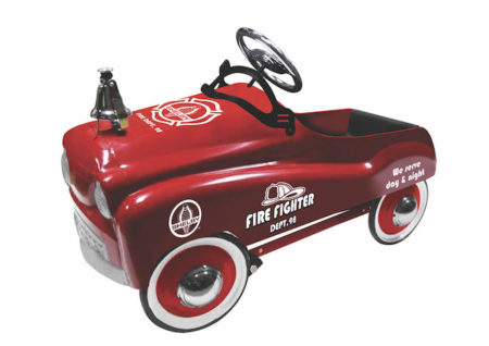 Shelby Cobra Official Licensed Fire Chief Stamped Steel Pedal Ride-On