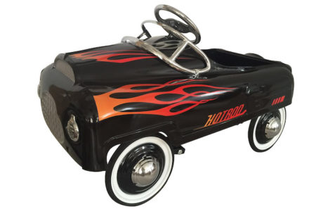 Hot Rod Stamped Steel Pedal Ride-On