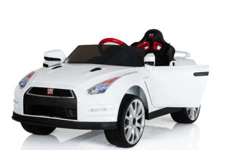 Nissan GTR-R35 Battery Powered Ride-On (White or Red)