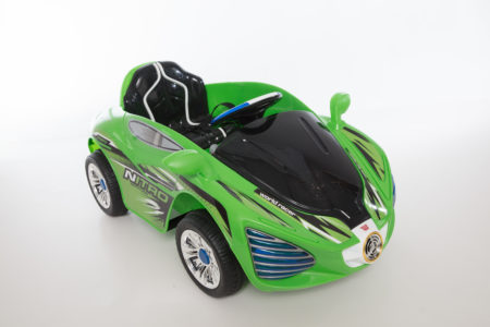 Wonderlanes Hyper Rev Battery Powered Ride-On (Green)