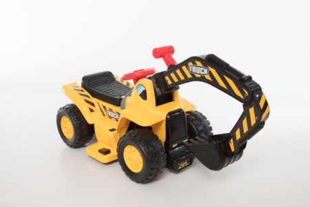 Wonderlanes Lil Backhoe Battery Powered Ride-On