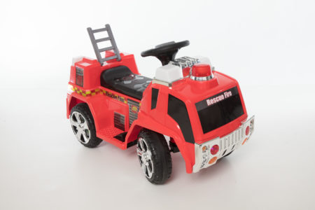 Wonderlanes Battery Powered Rescue Fire Truck