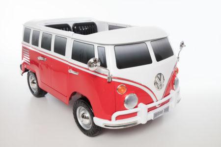Volkswagen T1 Camper Van: Two Seater Battery Powered Ride-On
