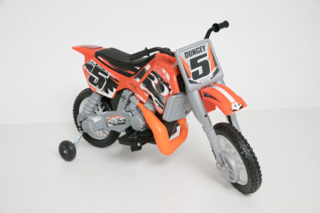 Ryan Dungey Battery Powered Ride-On: Motocross Dirt Bike
