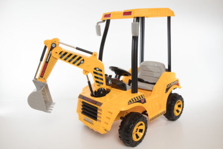 Wonderlanes Backhoe: 12V Battery Powered Ride-On