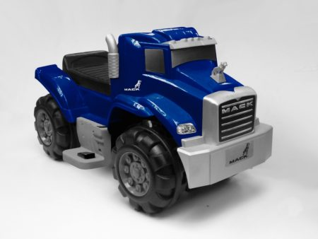 Blue Mack Truck: 6V Battery Powered Ride-On