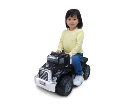 Black Mack Truck: 6V Battery Powered Ride-On
