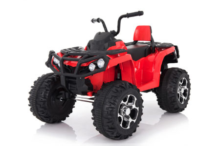 Wonderlanes Red Adventure ATV: Battery Powered Ride-On