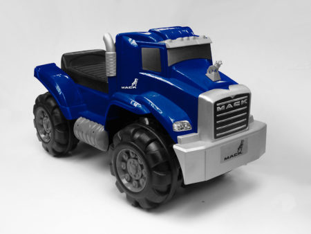 Blue Mack Truck: Foot To Floor Ride-On