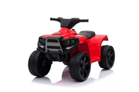 Wonderlanes Red ATV: 6V Battery-Powered Lil Quad