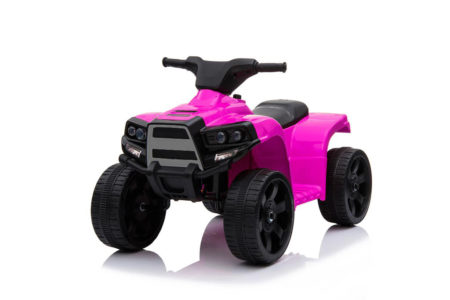 Wonderlanes Pink ATV: 6V Battery-Powered Lil Quad