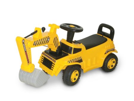 Wonderlanes Lil Construction Backhoe: Foot to Floor Ride-On