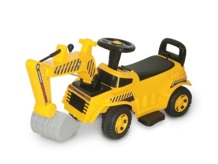 Wonderlanes Lil Construction Backhoe: 6V Battery Powered Ride-On